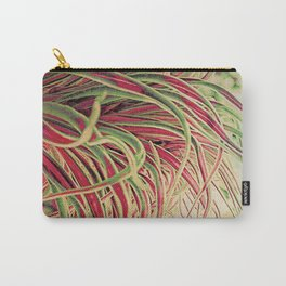 Green & red succulent. Carry-All Pouch