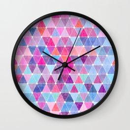 Lovely geometric Pattern Wall Clock