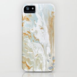Gold and shine iPhone Case