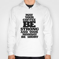 strong Hoodies featuring STRONG by ALL TYPE _ Marcio Pontes