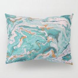 Aqua Marble Pillow Sham