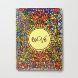 Love Design by Love2Snap Metal Print