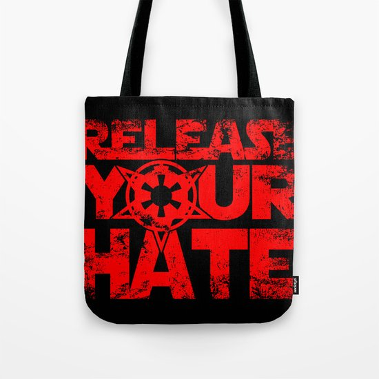 """Release Your Hate""-Darth Vader Tote Bag"