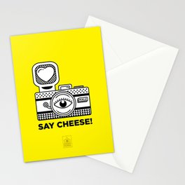 Say Cheese! Stationery Cards