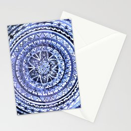 Blue and White Portuguese Porcelain Plate Stationery Cards