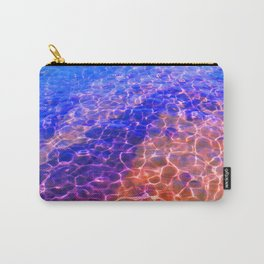 Blue Orange Water Carry-All Pouch