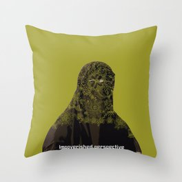 Impoverished perspective Throw Pillow