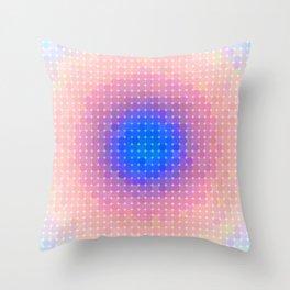 Ripple VI Pixelated Throw Pillow