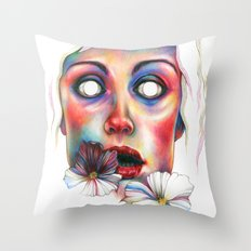 Never complete Throw Pillow
