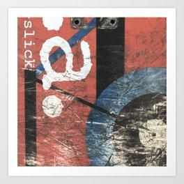 S.M.A., Natas Kapaus, Slick, 1992 Art Print