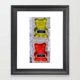 Good Goes Bad  Framed Art Print