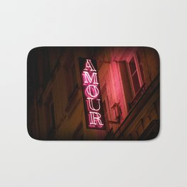 Oh l'amour indolence Bath Mat
