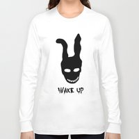 donnie darko Long Sleeve T-shirts featuring Donnie Darko Wake Up by Grace