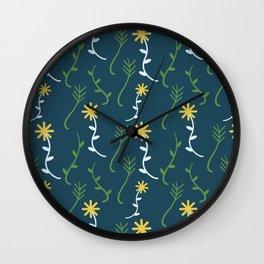 Dandelion Print Wall Clock