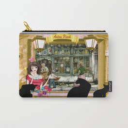 Clockshop in old Amsterdam Carry-All Pouch
