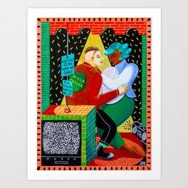 dance at the apocalypse Art Print