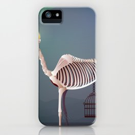 the flame and the grudge iPhone Case
