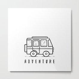 Adventure . . . Metal Print