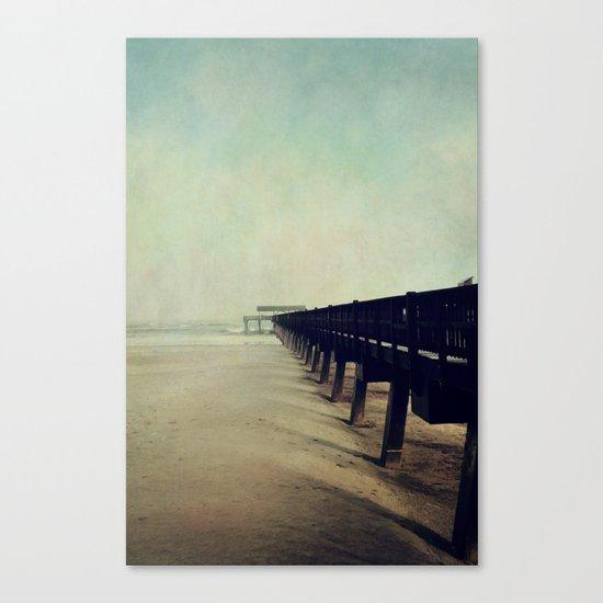 Seashore Pier Canvas Print