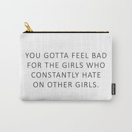 Girl Love - Beer Carry-All Pouch