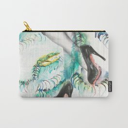 Rainbow and Serpent Carry-All Pouch