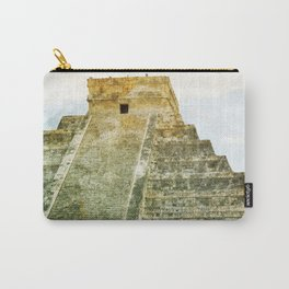 Chichen Itza pyramid Carry-All Pouch