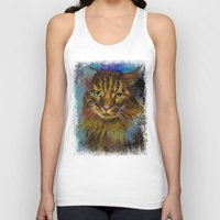 luna Tank Tops featuring Luna by Michael Creese