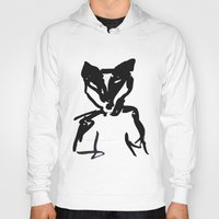 badger Hoodies featuring Badger by SarahEllenBurns