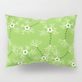 Green Neurons Pillow Sham