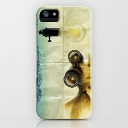 Fisheye Lens Goldfish iPhone Case