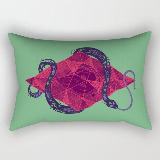 Mystic Crystal Rectangular Pillow