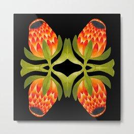 Floral symmetry 1. Metal Print