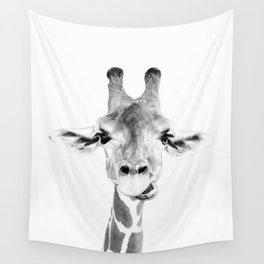 Hey Giraffe Wall Tapestry