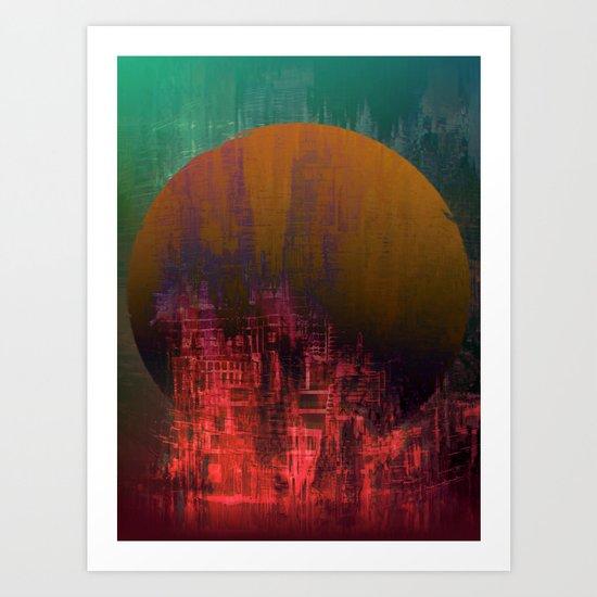 Fantastic Planet / Urban Fantasy 10-01-17 Art Print