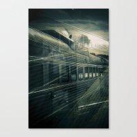 train Canvas Prints featuring Train by Jean-François Dupuis