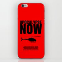apocalypse now iPhone & iPod Skins featuring Apocalypse Now Move Poster by FunnyFaceArt