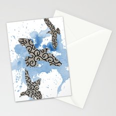 Mixed gulls Stationery Cards