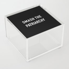 Smash the patriarchy Acrylic Box