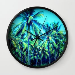 Palm Away With Me Wall Clock
