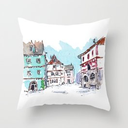 Rothenburg, Germany Throw Pillow