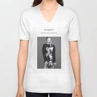 givenchy V-neck T-shirts featuring Givenchy Paris by CHESSOrdinary