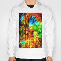meditation Hoodies featuring  Meditation by shiva camille