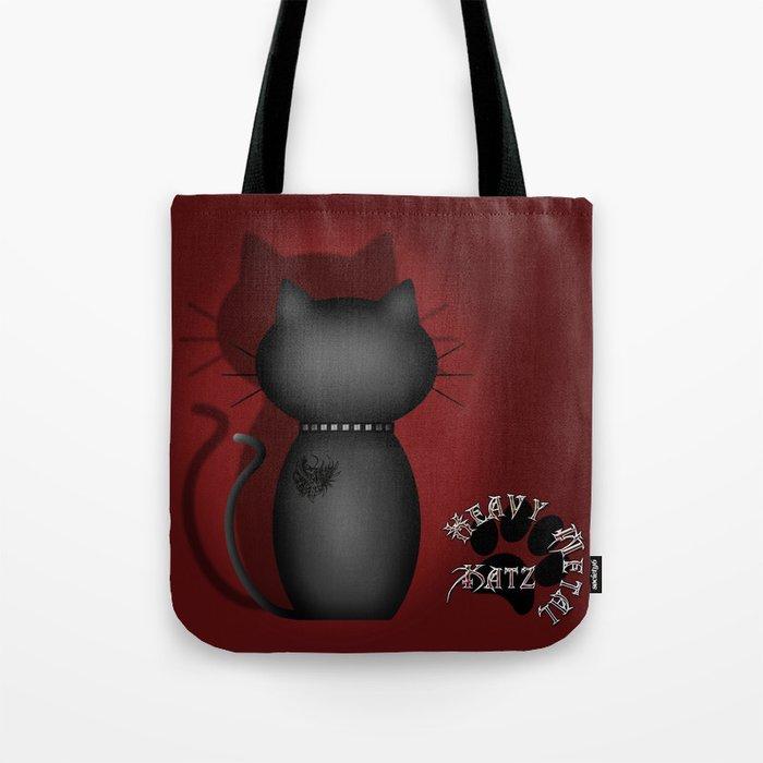 Heavy Metal Katz Tote Bag