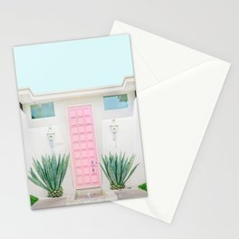 The Pink Door, Palm Springs, California Stationery Cards