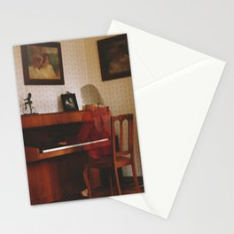 Piano lesson Stationery Cards