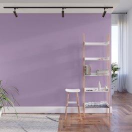 Crocus Petal | Pantone Fashion Color | Fall : Winter 2018 | Solid Color | Wall Mural