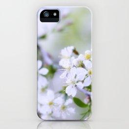 Apple-tree pastel iPhone Case