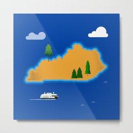 Kentucky Island Metal Print