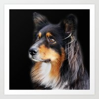 lucy Art Prints featuring lucy by ensemble creative