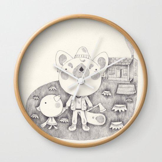 le cabanon Wall Clock